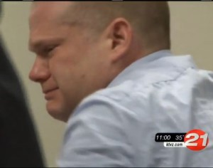Jeffrey Argo weeps during his sentencing (image credit: KTVZ News 21)
