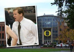 Univ. of Oregon's Dana Altman (image credit: wikipedia)