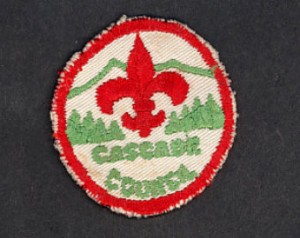 Old Cascade Council Badge